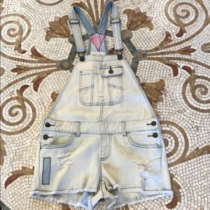 Sun and Shadow overalls